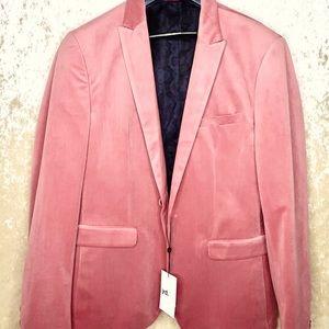 Dust pink blazer